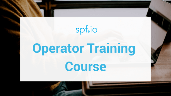 spf.io Operator Training